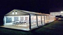 Namiot na sylwestra dla 80 osób