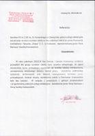 Referencja od firmy Powiatowy Zespół Szkół Ogólnokształcących im. Stanisława Konarskiego w Oświęcimiu