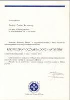 Referencja od firmy Krakowski Komitet Zwalczania Raka