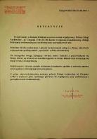 Referencja od firmy UG Książ Wielki