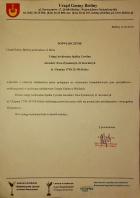 Referencja od firmy UG Bieliny