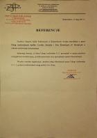 Referencja od firmy ZSP Bodzechów