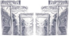 Doypack Aluminium + struna do pakowania kawy rozpuszczalnej, przypraw, - Aprit - Producent i Drukarnia Opakowań Bydgoszcz