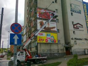 Wynajem podnośnika koszowego - Poster System - Wynajem Podnośników Szczecin
