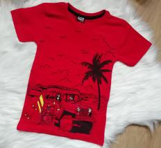 Koszulka Sommer czerwona - Smyczek Kraśnik