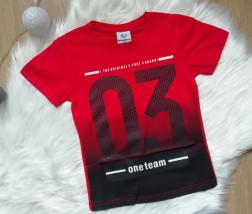 Koszulka 03 czerwona - Smyczek Kraśnik