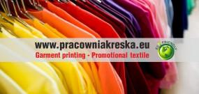 T-shirty z nadrukiem logo - pracownia kreska - drukarnia Sosnowiec