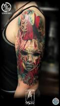 Tatuaż abstrakcyjny - SZERYTATTOO Warszawa