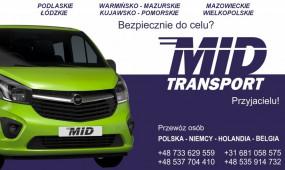 Busy Polska Niemcy Holandia Belgia - Dawid Falasa MID Transport Warszawa