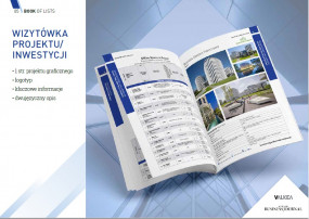 Graficzna wizytówka firmy/projektu/usługi - Book of Lists Warszawa