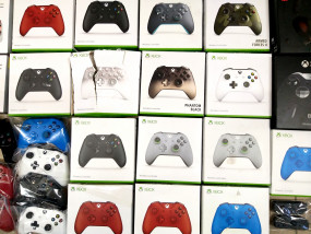 Paleta UK Anglia Pady Kontrolery Xbox One PS3 13. - Hurtownia Zabawek Outlet Maja Maria Gracjas OMAJA Wilkowice