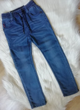 Spodnie jeansowe dla chłopca - Smyczek Kraśnik