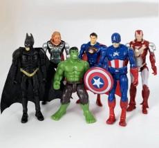 Gumowe Figurki Avengers - Bartosz Janas Będzin
