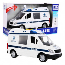 Auto Policja FURGONETKA policyjna światło dźwięk WY590B - ODIX Krzysztof Rębilas Tychy
