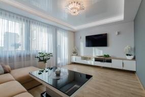 aranżacja salonu - Anna Berner Paluch New Design  - Biuro projektowe - projektowanie wnętrz Szczawno-Zdrój