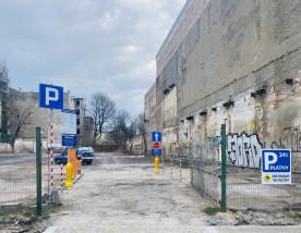 Parking Łódź ul. Sienkiewicza 54 (Sienkiewicza/Nawrot) - SECURITY SERVICE Łódzka Agencja Ochrony Mienia Łódź