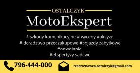 Rzeczoznawca samochodowy motoryzacyjny - MotoEkspert Jacek Ostalczyk Łódź