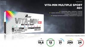 VITA-MIN MULTIPLE SPORT 40+ - IAR Zielona Góra