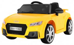Auto na akumulator Audi Quatro TT RS 2.4GHz żółty JE1198 - ODIX Krzysztof Rębilas Tychy