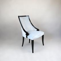 Krzesło tapicerowane do jadalni w stylu Art Deco - GREEN VALLEY Radomsko