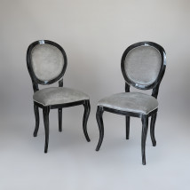 Elegancki komplet krzeseł do jadalni - GREEN VALLEY Radomsko