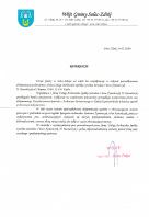 Referencja od firmy UG Solec- Zdrój