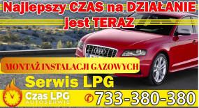 Montaż gazu w samochodzie - Czas LPG Warszawa
