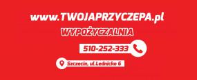 Wypożyczalnia i sprzedaż przyczep - TWOJAPRZYCZEPA - Karol Piotrowski Szczecin