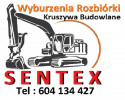 Wyburzenia Rozbiórki Kruszywa Budowlane SENTEX