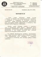 Referencja od firmy PSSE Sandomierz