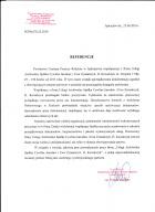 Referencja od firmy PCPR Jędrzejów