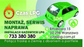 Montaż Serwis Naprawa LPG - Czas LPG Warszawa