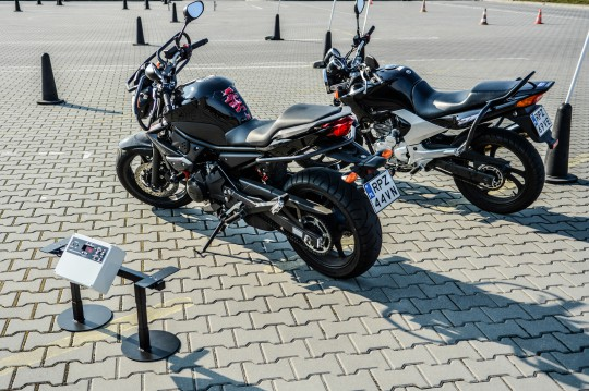 Motocykle gotowe....