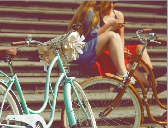 Miejskie rowery LE...