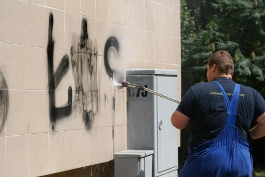 Graffiti usuwanie