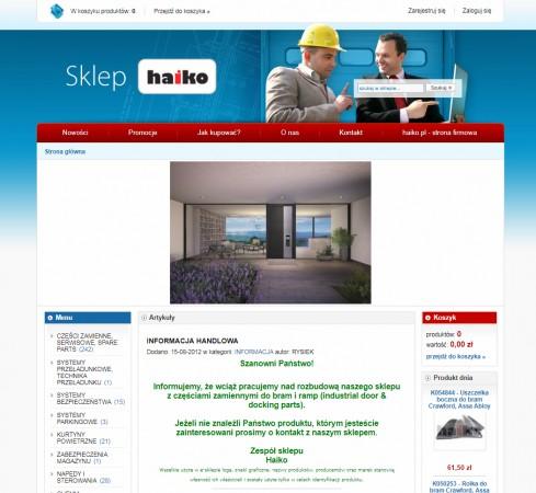 www.sklep.haiko.pl