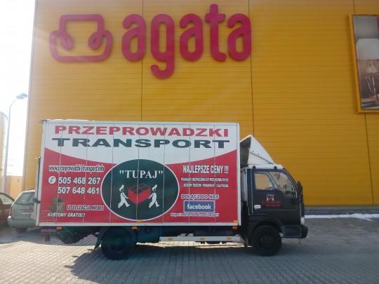 Transport Agata...