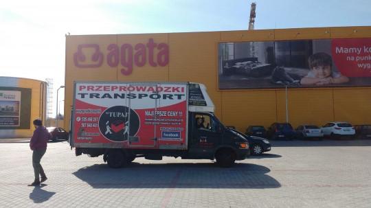 Transport Agatka...