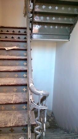 schody drewniane...
