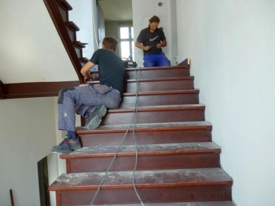 schody w trakcie...