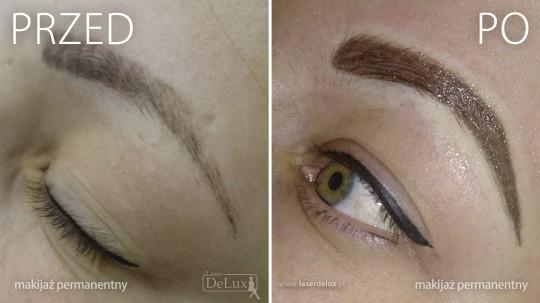 Efekty makijażu...