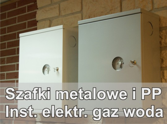 Szafki metalowe...