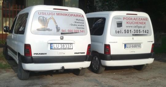 Samochody Cellgaz