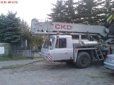 Dźwig tatra 30 ton