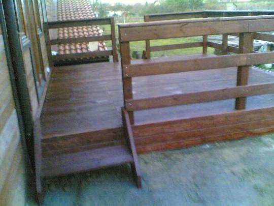 Taras drewniany...