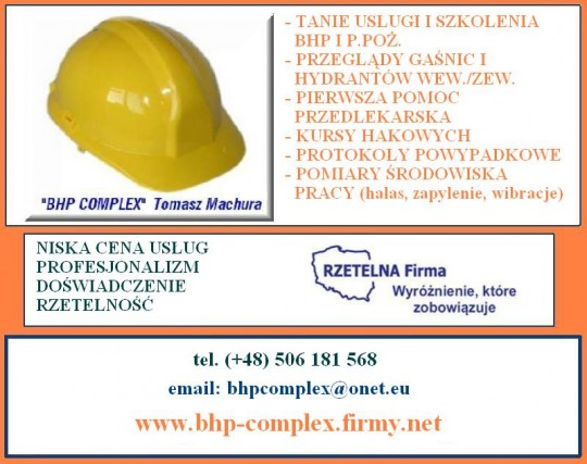 Oferta BHP COMPLEX