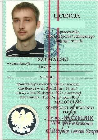 Licencja II stopnia