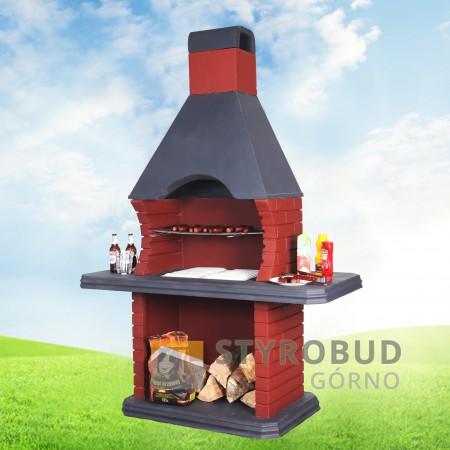 grill kominek...