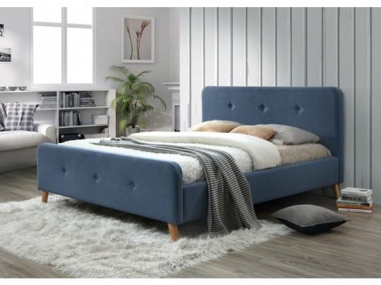 Łóżko Malmo denim