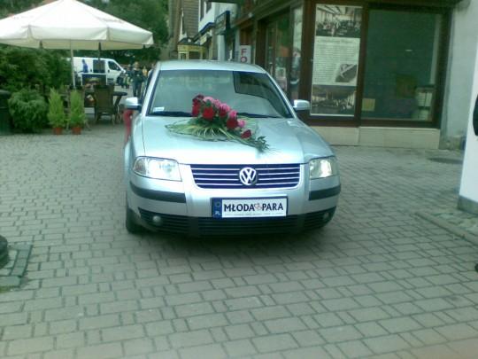 dekoracja samochodu...